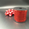 Wholesale outdoor red plastic Ribbon for christmas gift