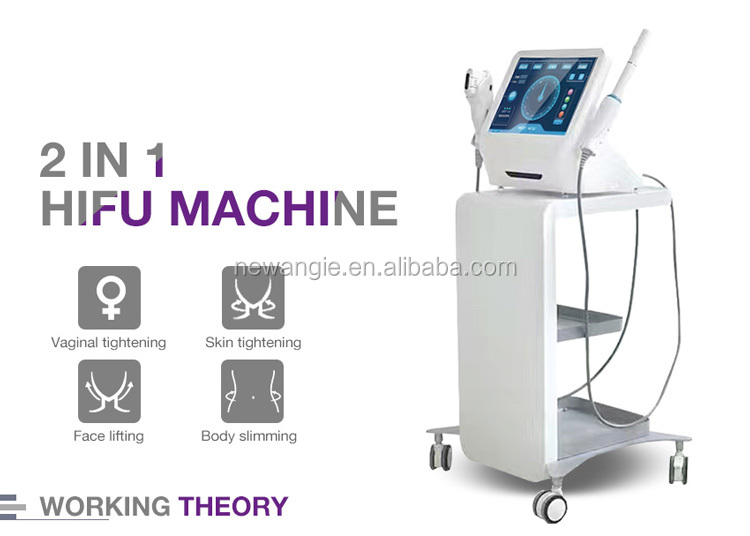 Dealer hot selling ultrasound hifu vaginal tightening machine