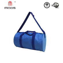 Sports style cheap 600d printed foldable travel bag