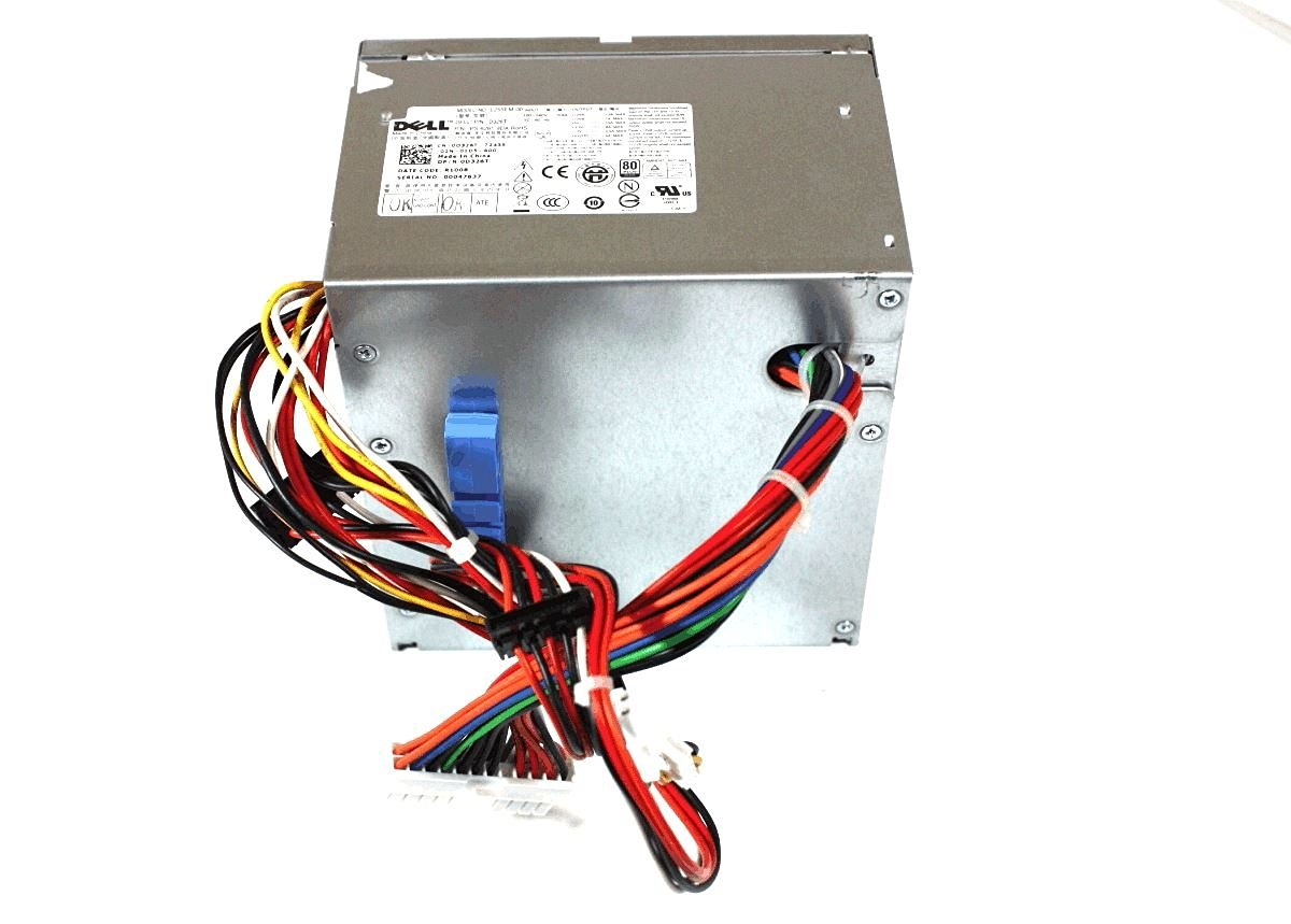 Genuine Dell 255w Tower Computer Power Supply D326T 0D326T L255EM-00