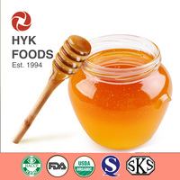 healthy qualified 100% raw honey in bulk or in individually glass jar