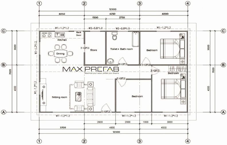 light steel frame house plans - Metal Frame Home Plans
