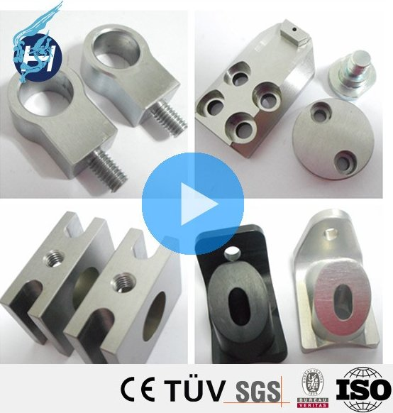 CNC stainless steel metal 5-axis machining center machine spare parts