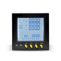 MA3UI5C Digital panel smart multi function 3 phase quality digital kwh meter