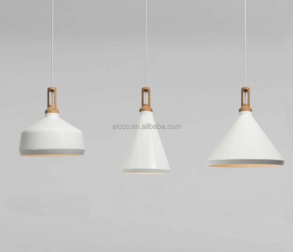 Modern Pendant Light With Wooden Pendant Lighting