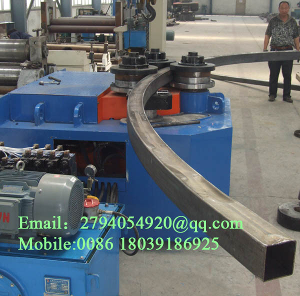 Stainless Steel Plate Rolling Machining South Africa: W24s-16 Used Hydraulic Pipe Bender For Sale