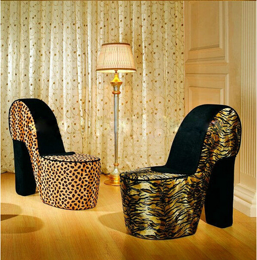 Really Cheap Furniture For Sale: High Heel Shoes Chairs For Cheap Sale Sh-6