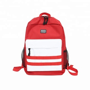 Ins super fire street trend college backpack men 2018 high school new shoulder bag fashion backpack
