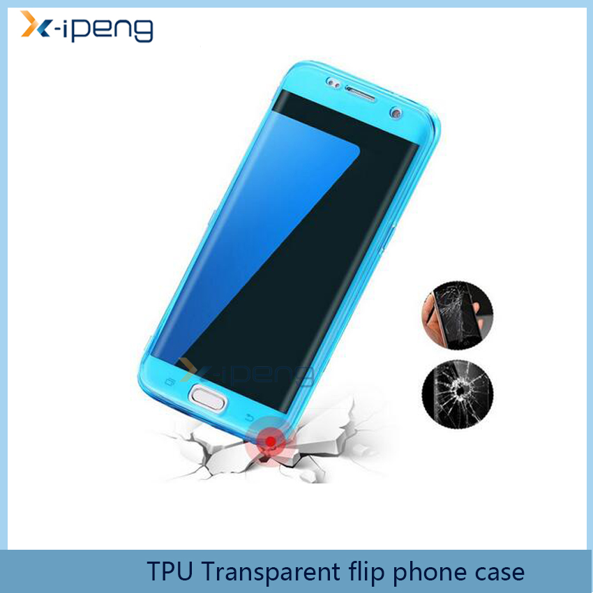 Most Popular 360 degree TPU transparent soft front and back phone case cover for huawei y3 ii