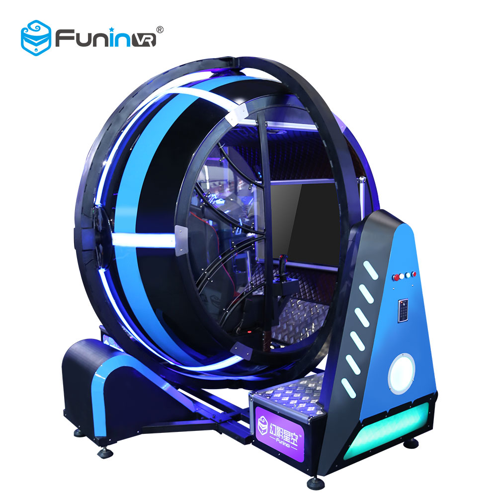 Funin VR Shuttle Space Flight Simulator 360 Degrees Machine <strong>For</strong> <strong>Sale</strong>