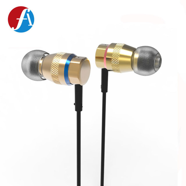 2017 New Metal in-ear Sweat-proof Hi-RES Headset 4.1 Magnetic Stereo Sports Earphone