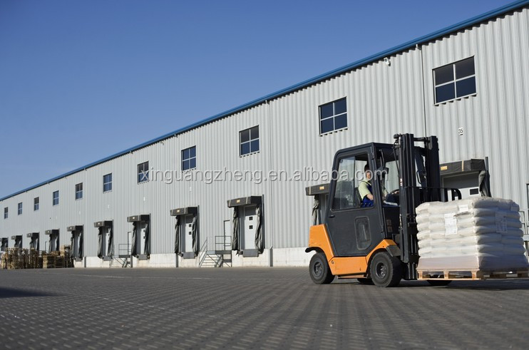 Chinese steel structure warehouse shed