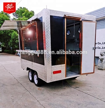 International Hot Products designs mobile kitchen food cart