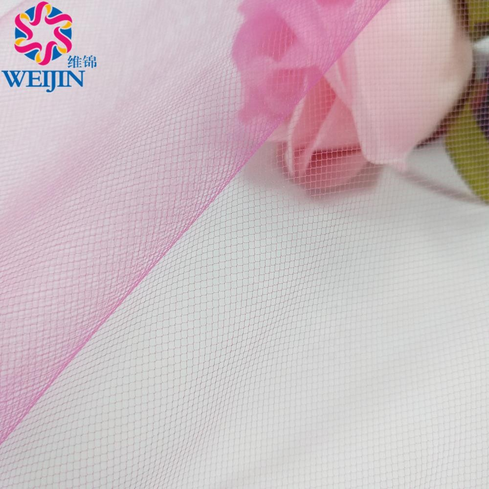 American Tulle Mesh Fabric 100%Polyester Hayal Tulle Fabric For Wedding Party Decoration Girl Skirt Illusion Bridal