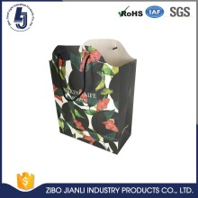 Factory Promotional kraft paper bag with handle carry
