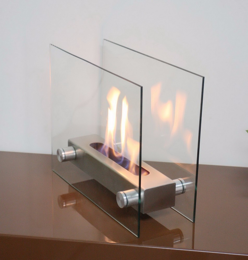 Kamin Modern Design on sale bio kamin with table glass modern design fireplace buy bio