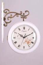 description for a wall clock double sides wall clock wall clock