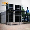 Online shopping spear top tubular fencing diplomatic black steel fence panels china manufacturer