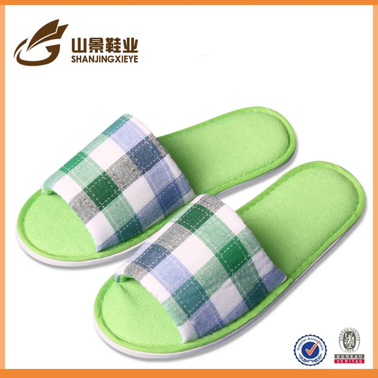 soft comfortable beautiful different color hotel slipper