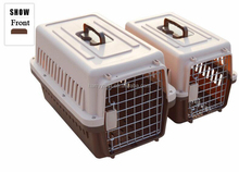 Hot Sale Plastic Aviation Dog Cage Pet Air Carrier With Firm Lock Door