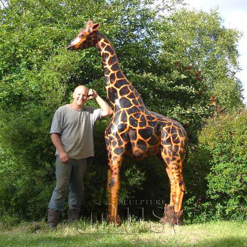 Good Outdoor Garden Decoration Metal Bronze Giraffe Bronze Sculpture For Garden  Decoration