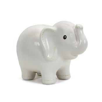 Personalized Ceramic Large Elephant Piggy Bank For Kid Birthday Buy Ceramic Elephant Bank Large Elephant Bank Piggy Bank Kid Birthday Product On