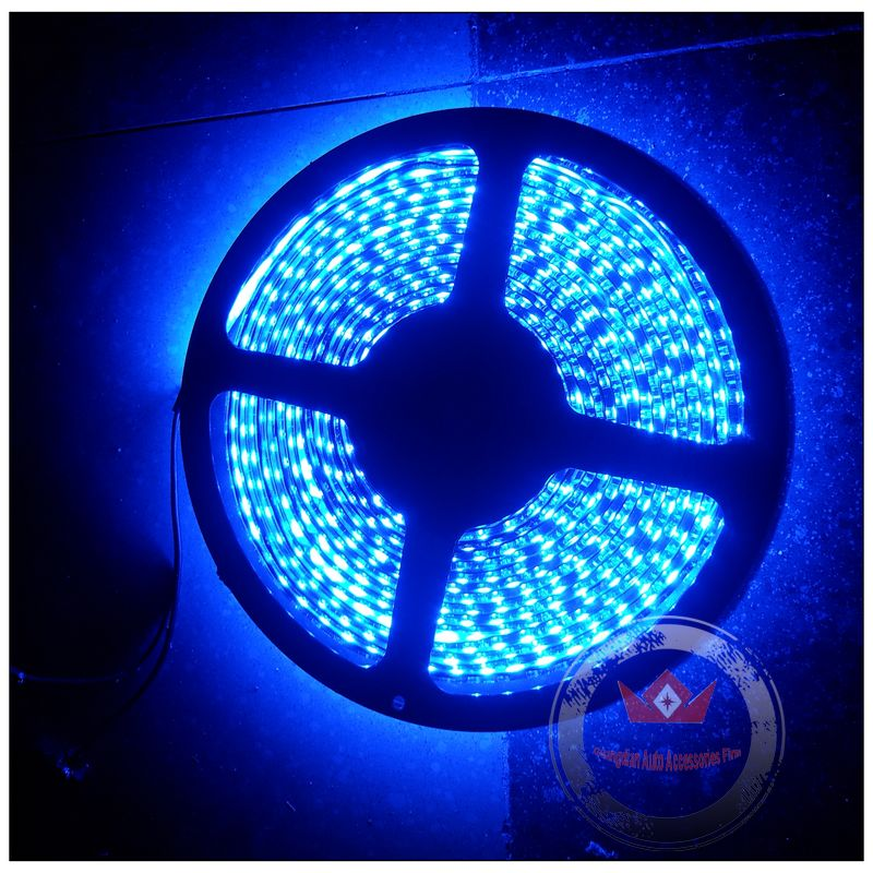 5m/300LEDs High quality 3528SMD Flexible LED Strip Light Bar Waterproof IP67 12V car drl driving decorative light Lamp