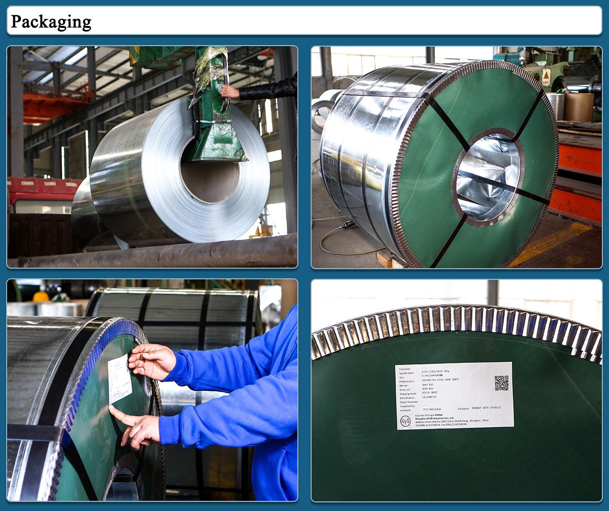 AIYIA Recipiente a Pressione Piastra In Acciaio ASTM 1070 acciaio di Bassa Lega Ad Alta Resistenza Nastri di Acciaio dalla fabbrica C67