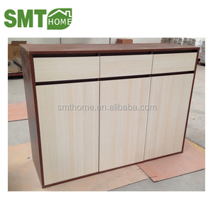 Hot sale shoe rack 3 doors PB 16mm with cheap price good quality