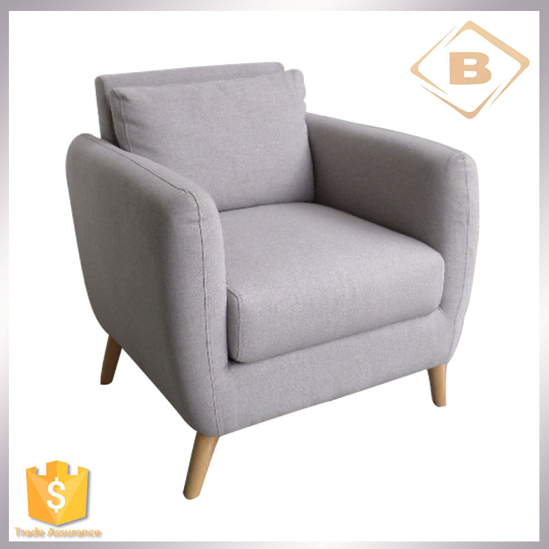Modern Wholesale Fabric Single Sofa,Living Room Furniture Office Sofa