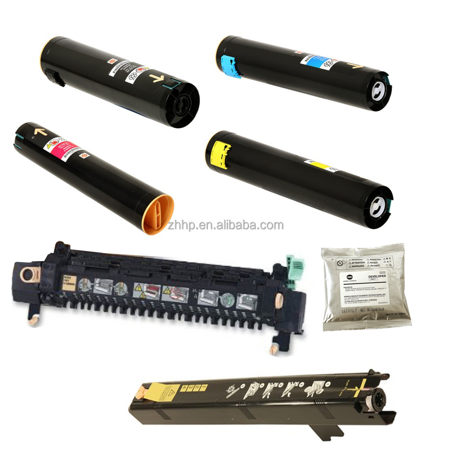 Print Supply for Xerox 7760 Toner 4 Colors, <strong>DEVELOPER</strong> 604K022530, MAGING UNIT 108R00713 4pcs, FUSER 115R00050 1 pcs Copier Parts