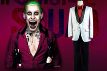 Hot sale joker costume dark knight joker costume halloween cosplay costume