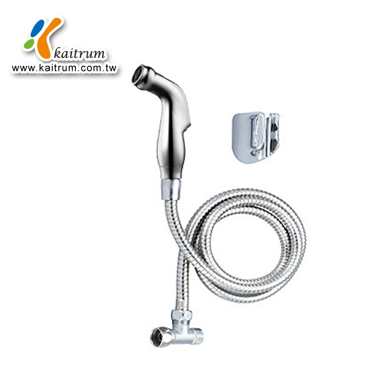 Kaitrum Economic shower douche accessories Chrome ABS shattaf bidet spray and hose