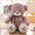 Hot selling 2019 bear valentine plush toy big size stuffed animals bear promotional soft giant teddy bears
