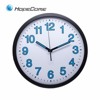 Plastic Wall Clock Home Decoration