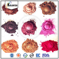 Multi color pearls mica powder for cosmetic, pearl pigment for nails, lips, eyeshadow, soaps