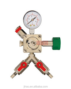CO2 high quality single gauge regulators/ one way co2 gauge regulators/ flow gauge regulators