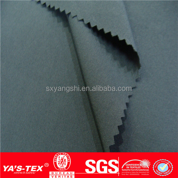 YA'S-TEX Waterproof Polyester 4 Way Spandex Fabric, Polyester Fabric, Polyester Elastic Fabric China Gold Manufacturers