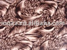 Fleece fabric PV plush PE fabric embossing technology warp knitted fabric
