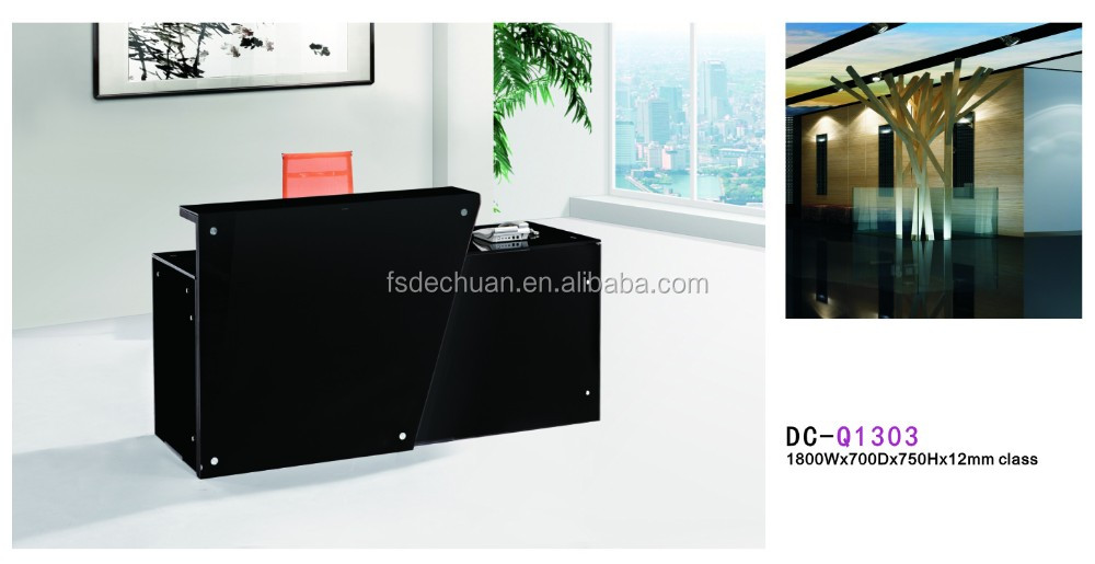 Moderne meubles avant porte debout réception pour bureau buy