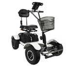 4 wheels single seat electric golf cart