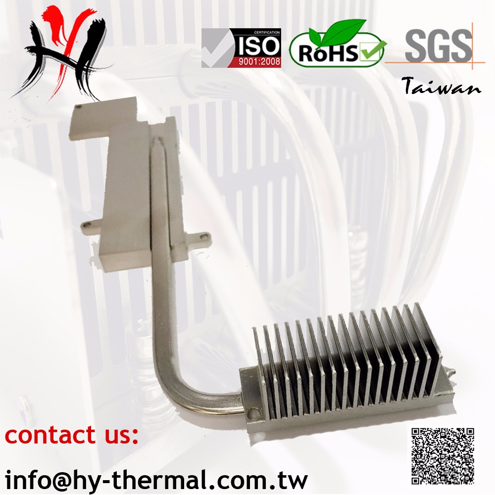 Simple custom low cost high conduction cpu industrial heat sink