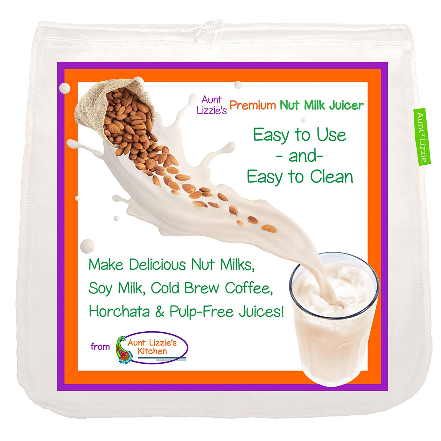 Get Quotations Pro Quality Almond Milk Bag Large Free Standing Nut