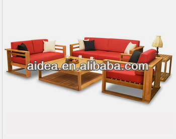 Teak Furniture Wood Sofa Set Designs