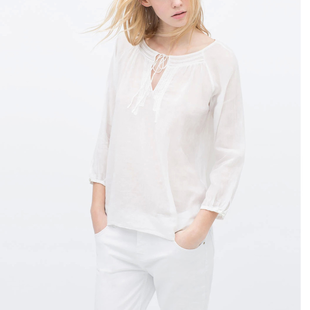 Shop UNIQLO for a wide variety of women's casual shirts, blouses and work shirts. Shop from women's button down shirts, women's denim shirts, women's linen shirts, women's oxford shirts, and silky blouses. Choose from short sleeve blouses, 3/4 length sleeve blouses and long sleeve women's shirts. UNIQLO US.