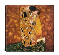 Famous high quality handmade gustav klimt mother and child reproduction oil painting