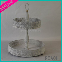 hanging silver wine bottle flat glass candle holder