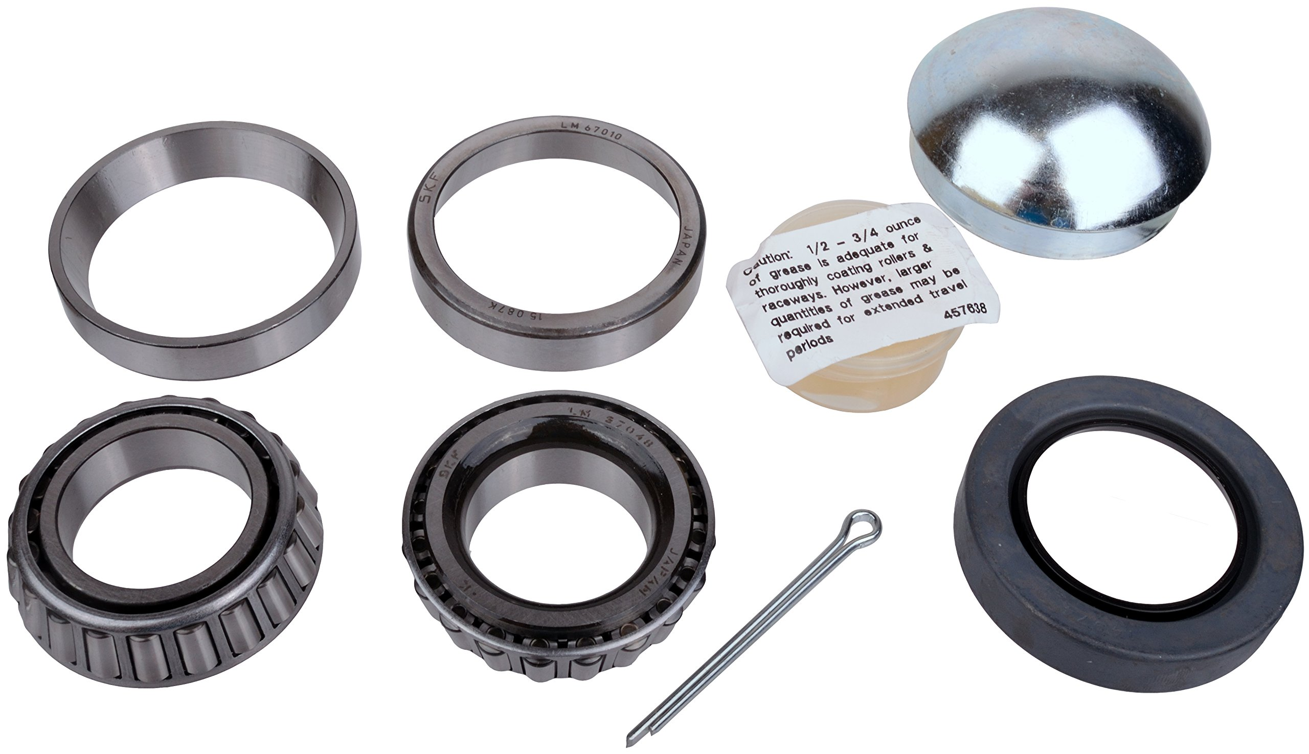 SKF 23 Recreational Trailer Seal and Bearing Kit (1-1/4-Inch Axle)