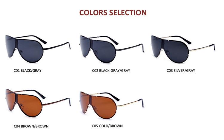 8487 wholesale foldable metal eyewear 2019 fashion Polarized sunglasses for men