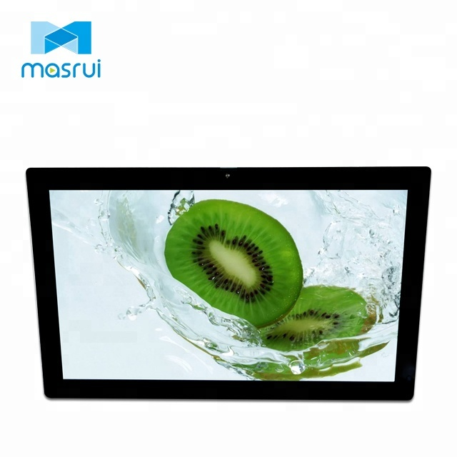 Network Android LCD Display Wall Mount Touch Screen 13 Inch Advertising Player